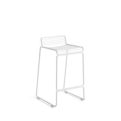 HEE Bar Stool H65cm, White 2 pcs