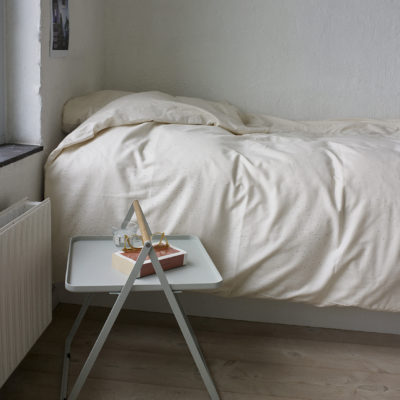 BY YOUR SIDE Table, Light Grey
