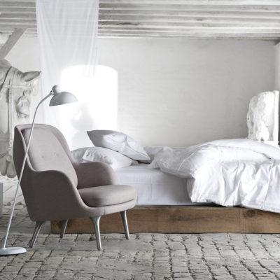 KAISER IDELL Floor Lamp, White