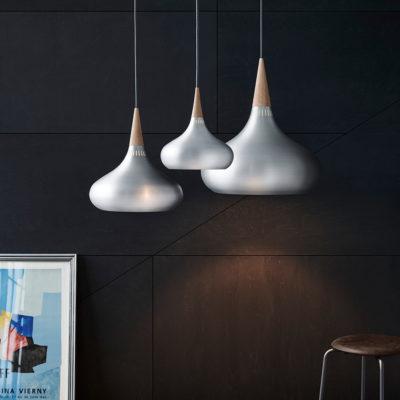 ORIENT Pendant Lamp P3, Aluminium
