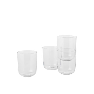 CORKY Glasses Tall, Clear