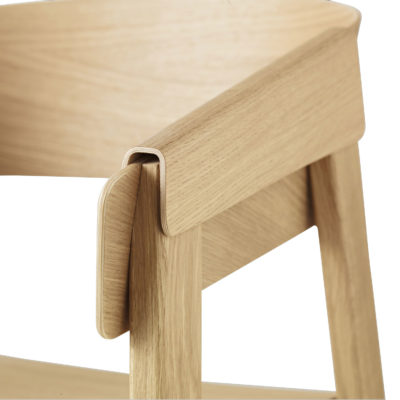 COVER Chair, Wooden Seat