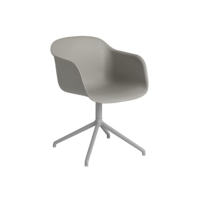 FIBER Armchair, Swivel Base w.o. return