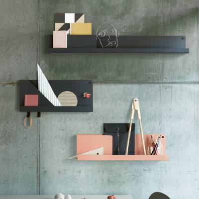 FOLDED Shelf Medium, Olive