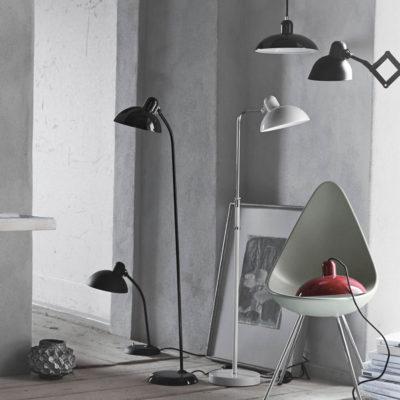 KAISER IDELL Floor Lamp, Black