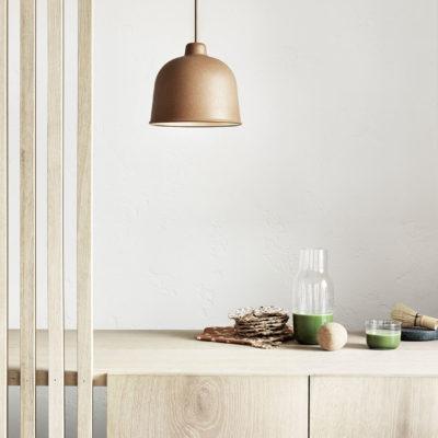 GRAIN Pendant Lamp, Nature