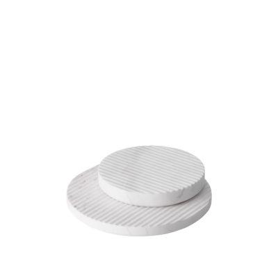 GROOVE Trivet Small, White