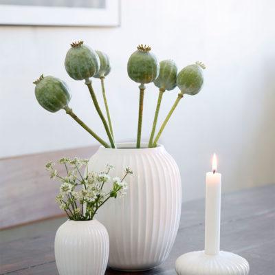 HAMMERSHOI Vase H200 WHITE