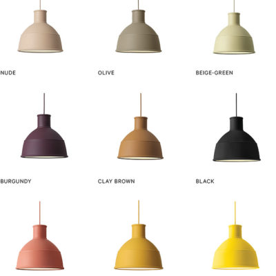 UNFOLD Pendant Lamp, Light Grey