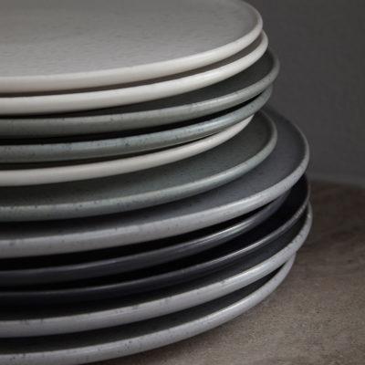 OMBRIA Plate 27cm Slate Grey