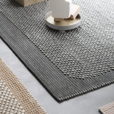 PEBBLE Rug, Dark Grey