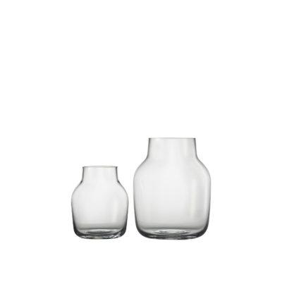 SILENT Vase Large, Clear