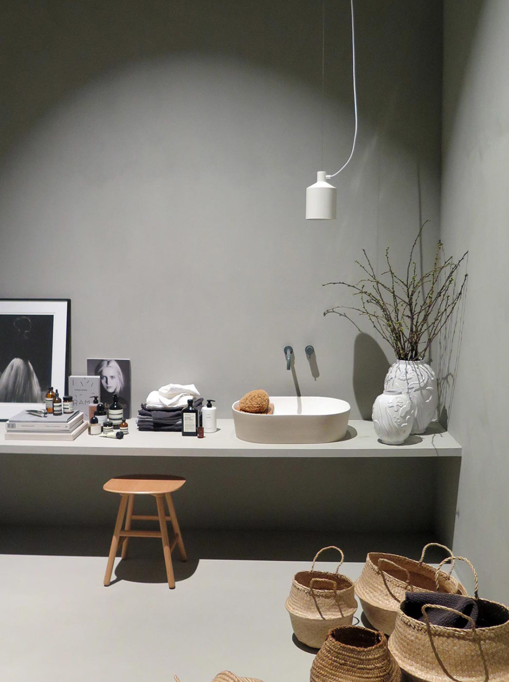 SILO Pendant Lamp, Grey