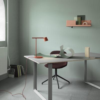 FOLDED Shelf Small, Blue Grey