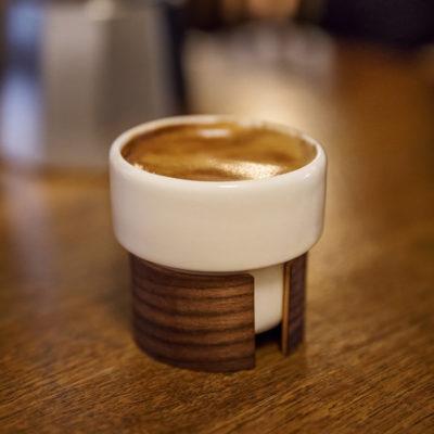 WARM Espresso Cup, Walnut