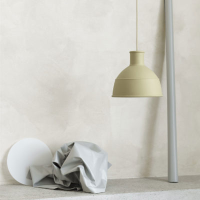 UNFOLD Pendant Lamp, Green Beige