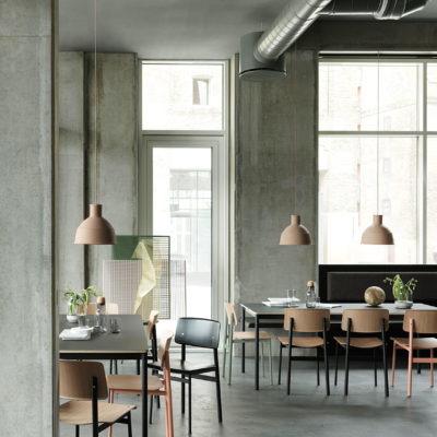 UNFOLD Pendant Lamp, Clay Brown