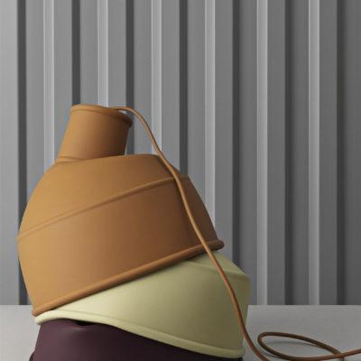 UNFOLD Pendant Lamp, Yellow