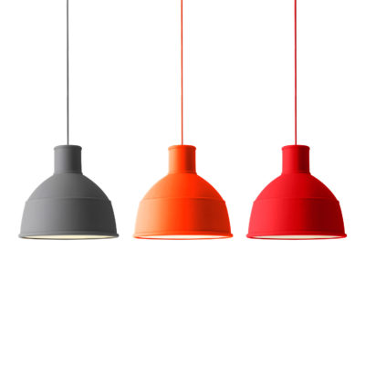 UNFOLD Pendant Lamp, Orange