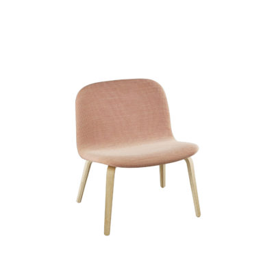 VISU Lounge Chair, Textile Seat