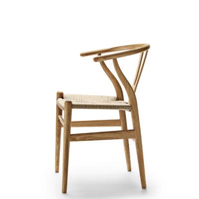 CH24 WISHBONE Chair, Oak Oil – Natural