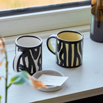 WOOD Mug, Yellow