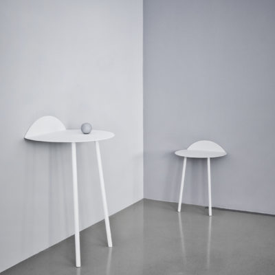 YEH Wall Table Low, White