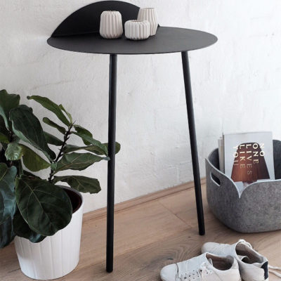 YEH Wall Table Tall, Black