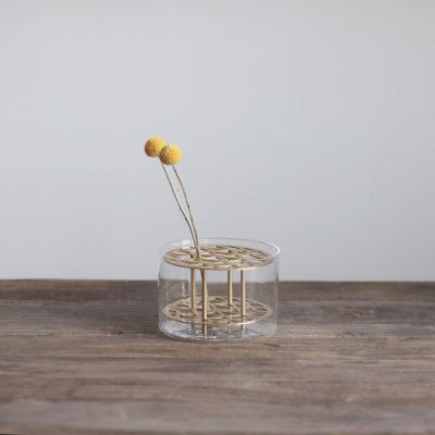 ANG Vase Small, Brass