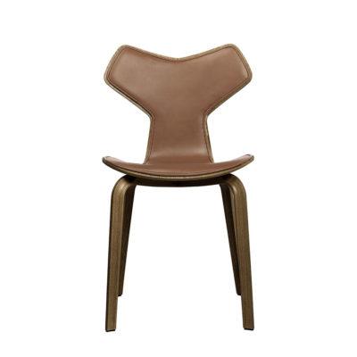 GRAND PRIX™ 4130 Chair, Veneer, Front Upholstered
