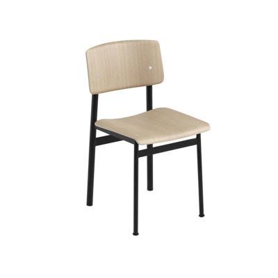 LOFT Chair, Oak/Black
