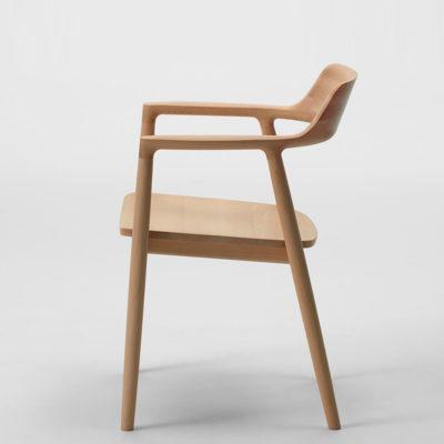 Hiroshima Chair Oak, Urethane Whitish