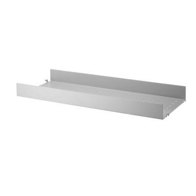 STRING Metal Shelves High Edge, 58x20cm