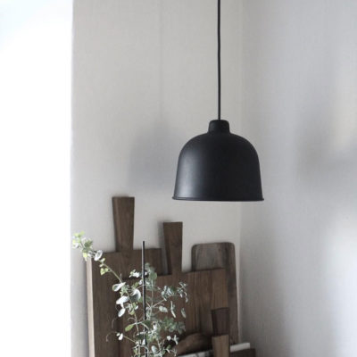 GRAIN Pendant Lamp, Black
