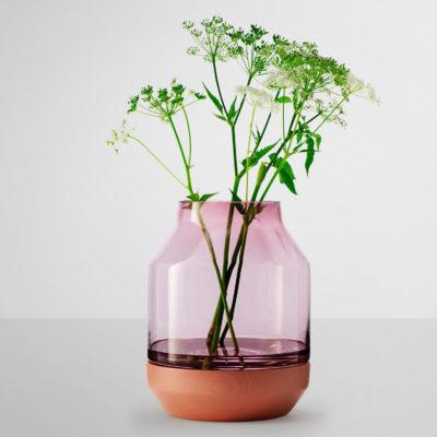 ELEVATED Vase, Rose