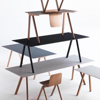COPENHAGUE Table CPH30, 200x90cm