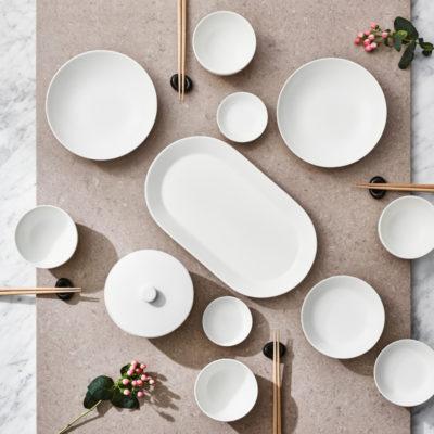 TEEMA TIIMI Soup Bowl, White