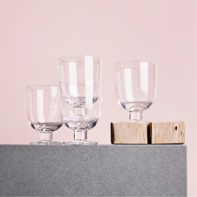 LEMPI Glass 2pcs, Clear