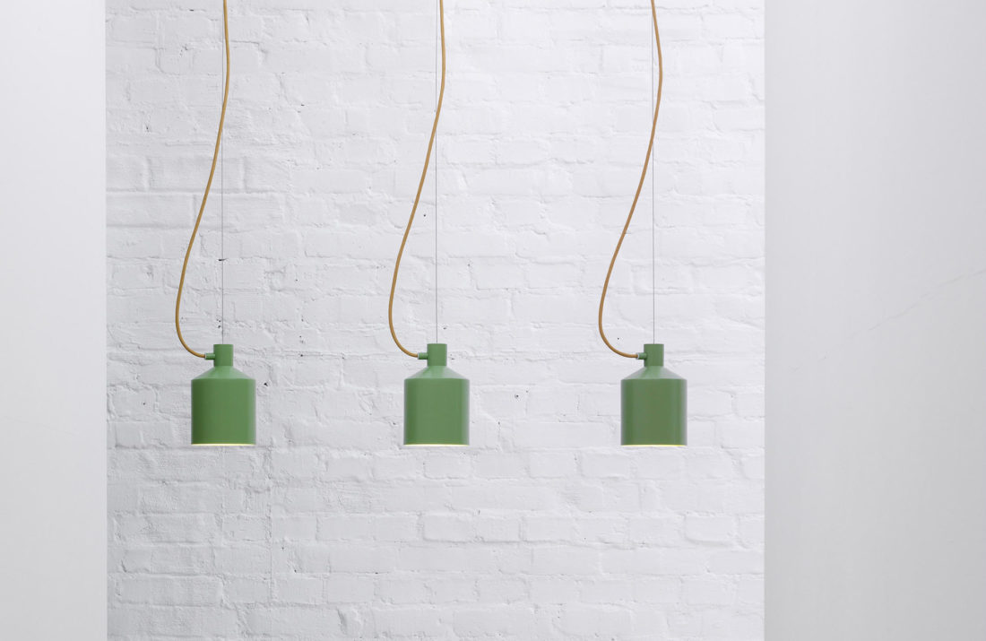 SILO Pendant Lamp, Green