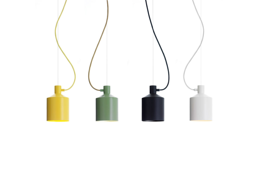 SILO Pendant Lamp, Yellow