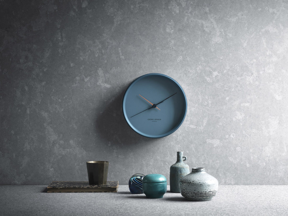 HK CLOCK 22cm, Blue