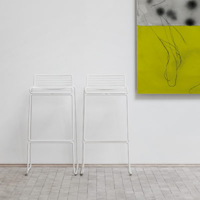 HEE Bar Stool H75cm, Asphalt Grey