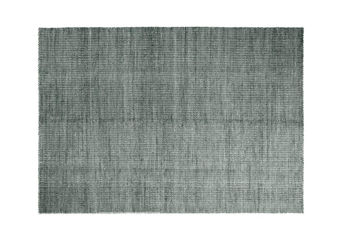 MOIRE Kelim, Dark Green 200×300 cm