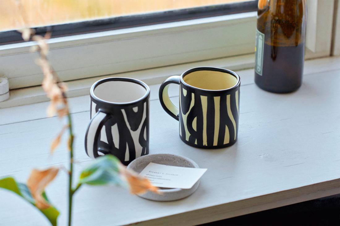 WOOD Mug, White