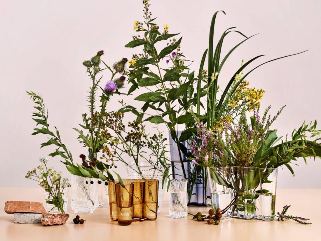 ALVAR AALTO Vase 95mm, Clear