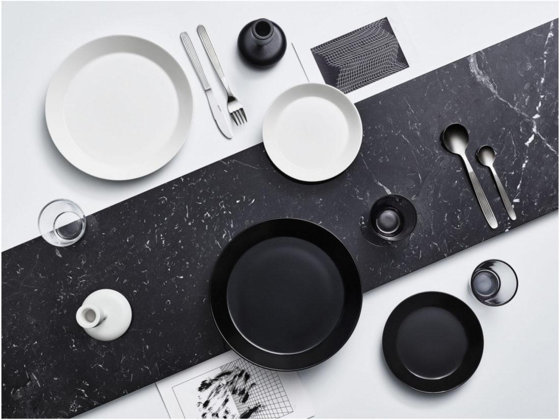 TEEMA Plate, Black