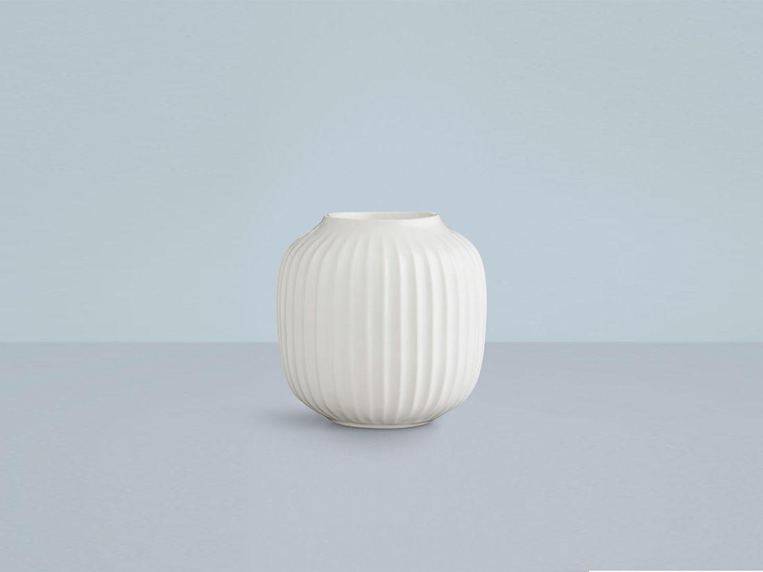 HAMMERSHOI Tealight Holder, White H90