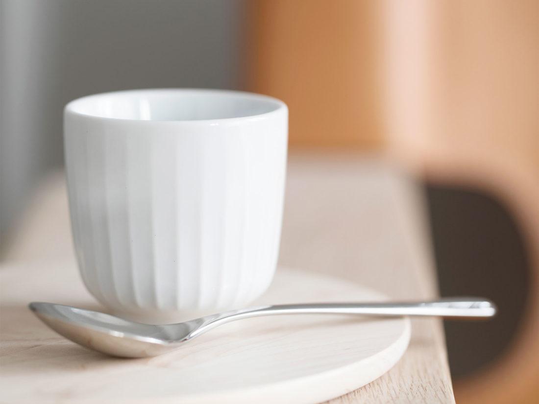 HAMMERSHOI Espresso Cup White