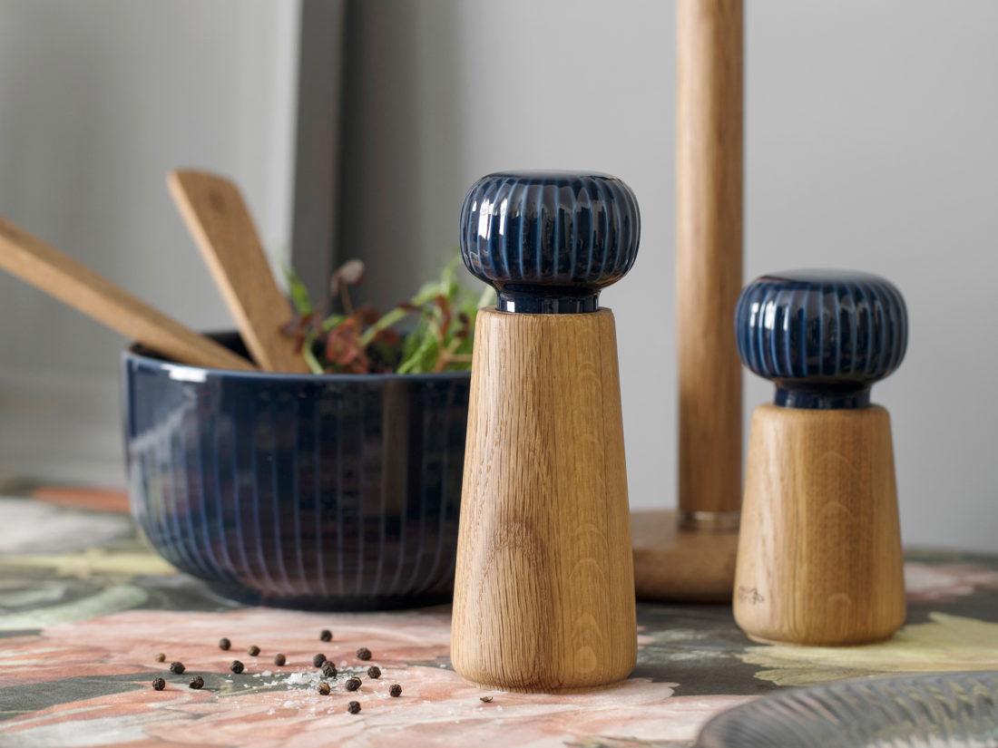 HAMMERSHOI Grinder Large Indigo Blue