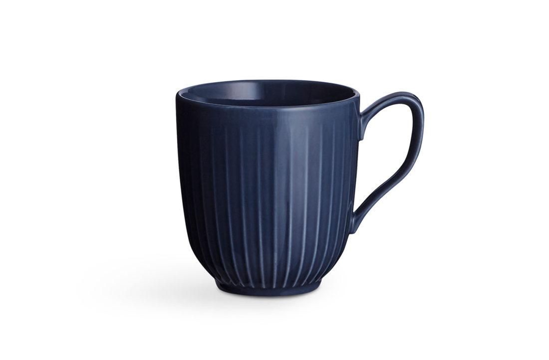 HAMMERSHOI Mug Indigo Blue